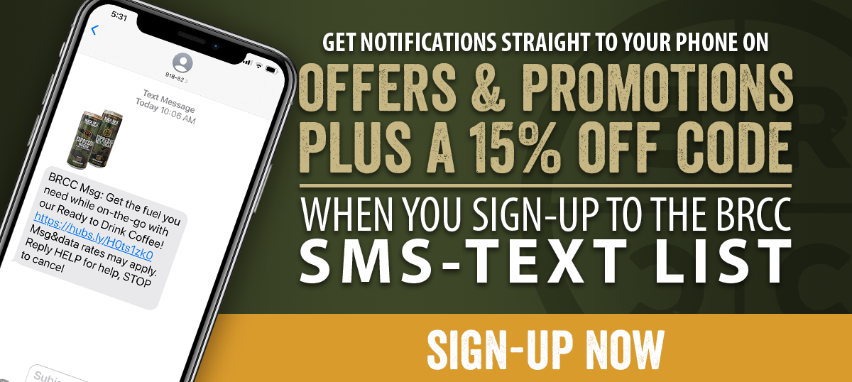 Sign Up to our SMS-Text List Now