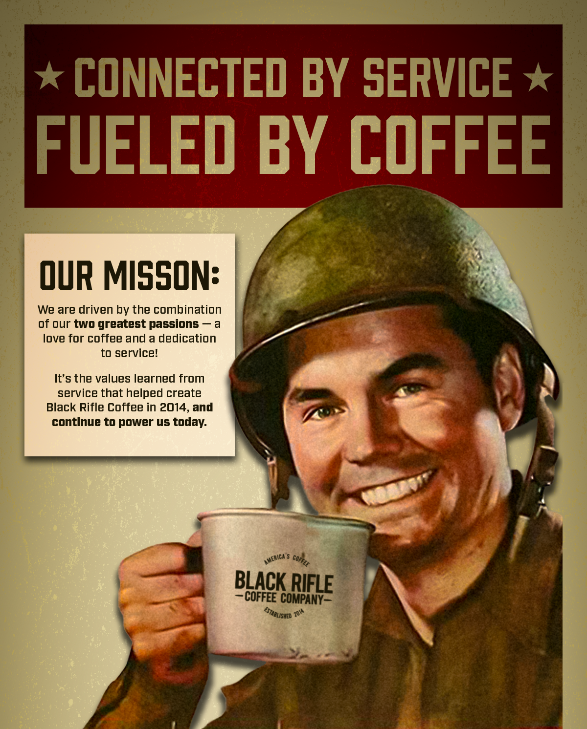 Connected by Service, Fueled by Coffee