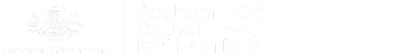 Australia council for the arts and the vicotiran goverment logos.