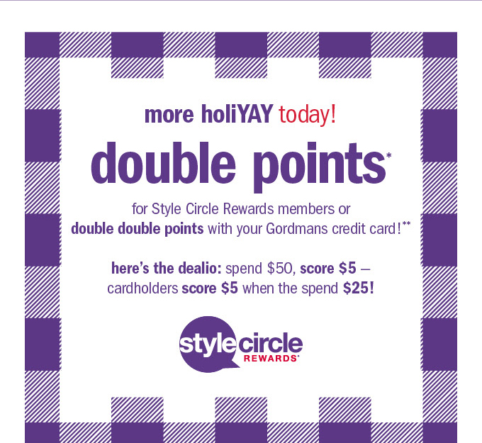 More holiyay today! Double points*