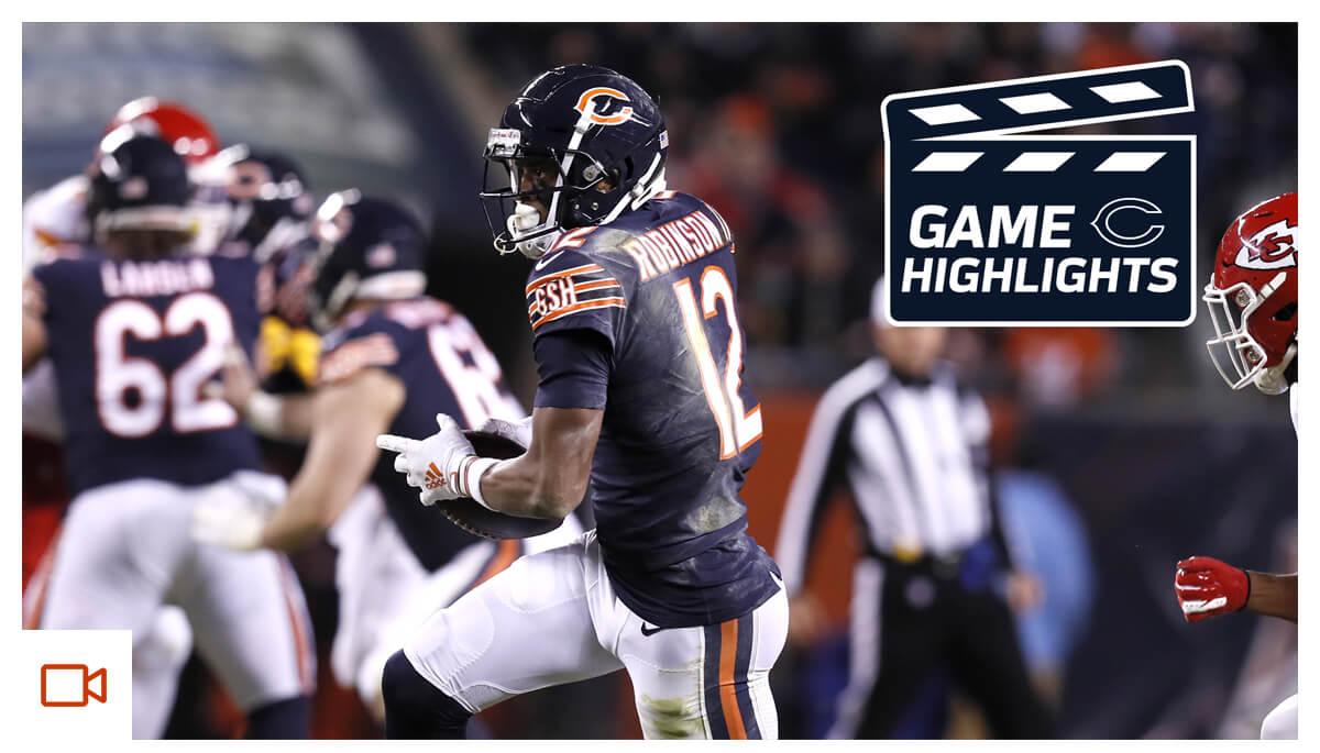Highlights: Bears vs. Chiefs