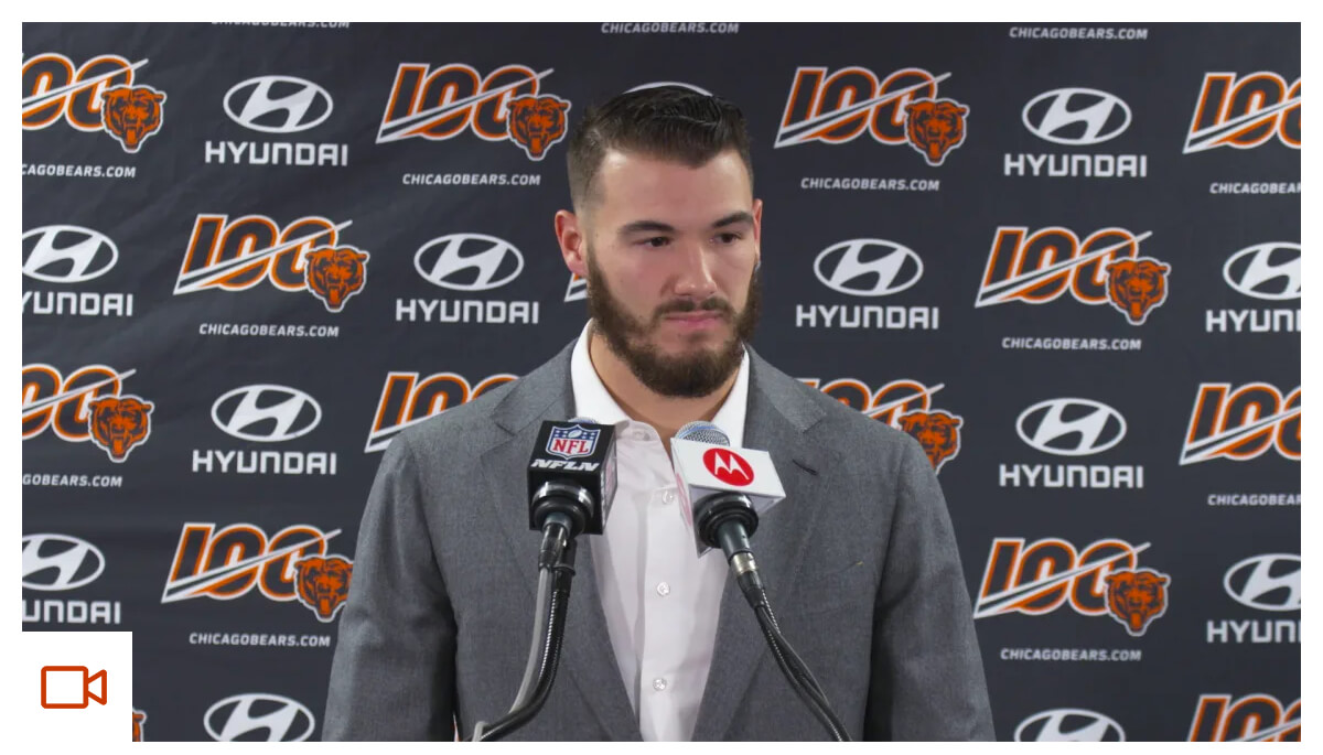 Trubisky: We didn't play our game today