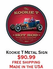 Kookie T Metal Sign