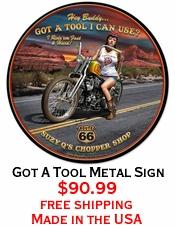 Got A Tool Metal Sign