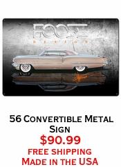 56 Convertible Metal Sign