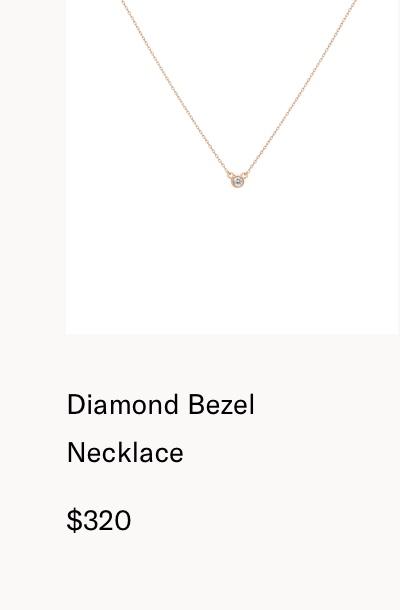 DiamondBezelNecklace