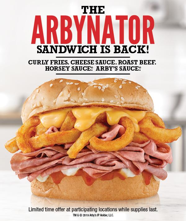 ARBYNATOR SANDWICHES