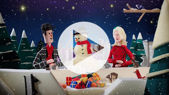 Ingrid Michaelson & Jason Mraz - Christmas Valentine Music Video