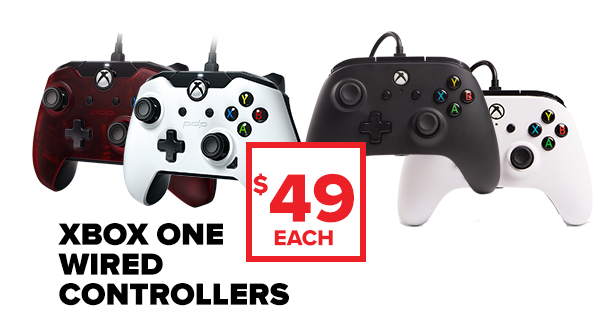 Shop Xbox One controllers.