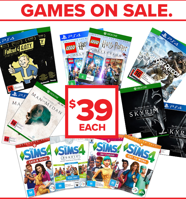$39 Games!!