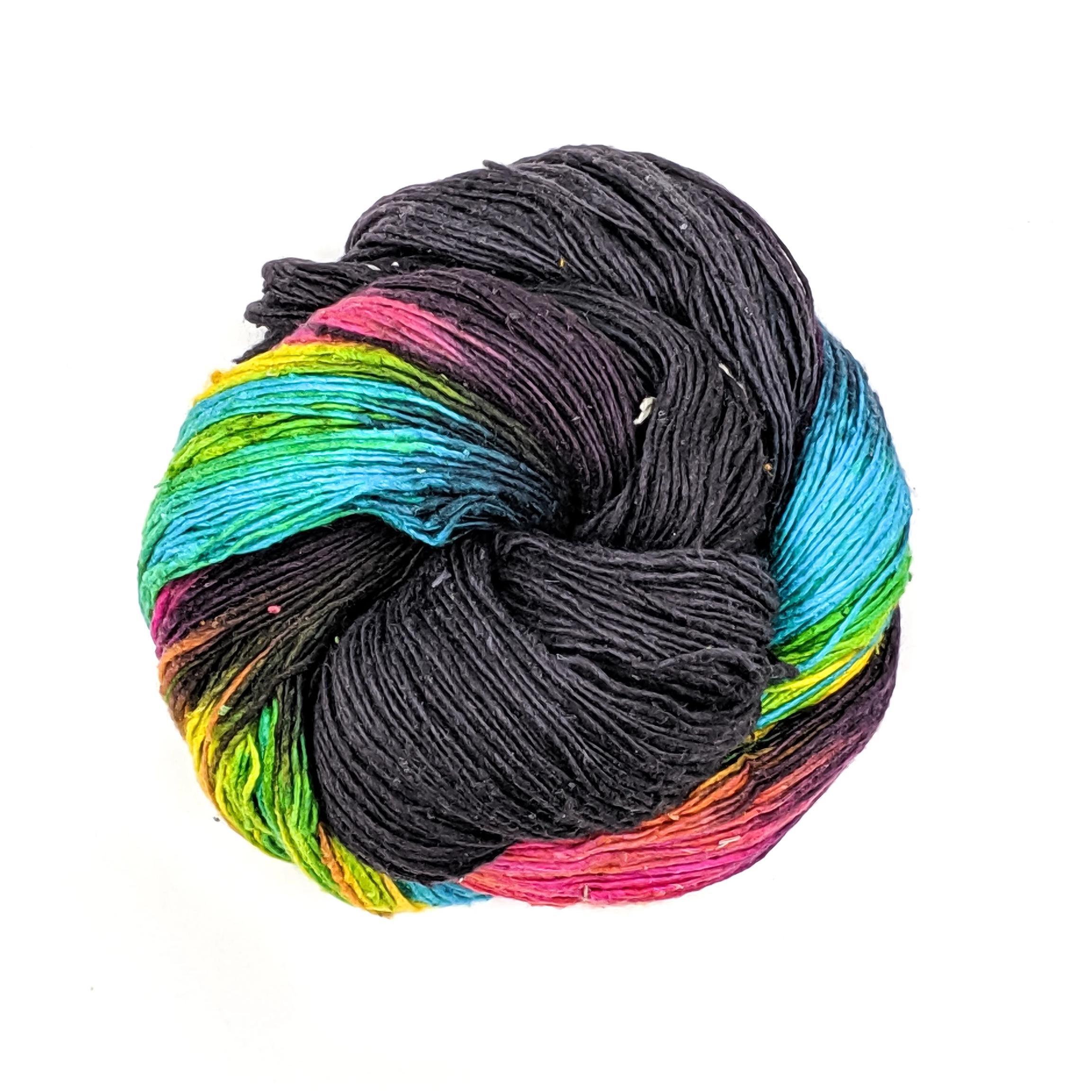 Peek A Boo Lace Weight Silk Yarn