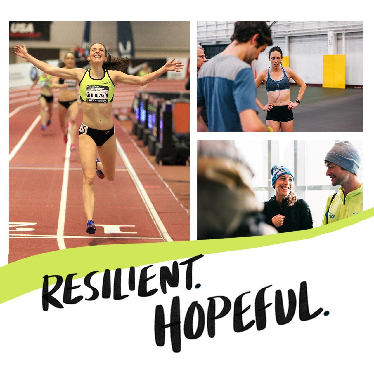 Resilient. Hopeful.