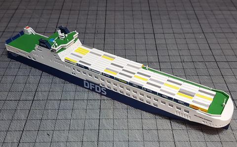 RJ 243 LKW Z Trailer Load