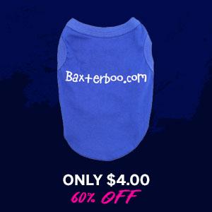 BaxterBoo Dog Shirt - Blue
