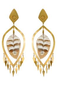 Maat's Drop Earrings