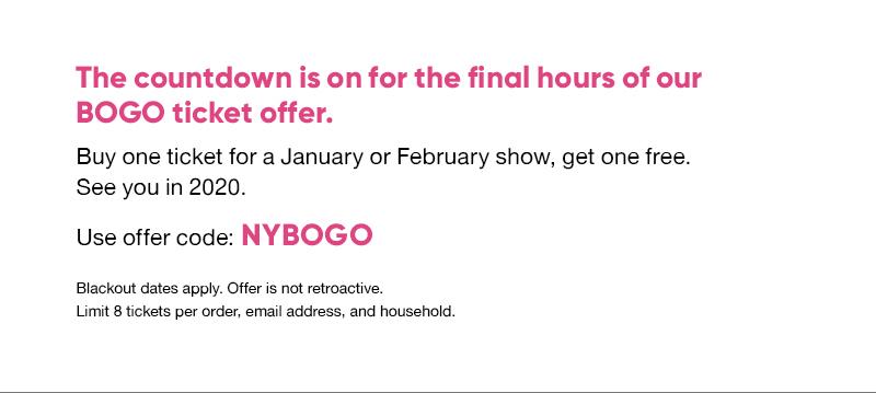 Offer code: NYBOGO