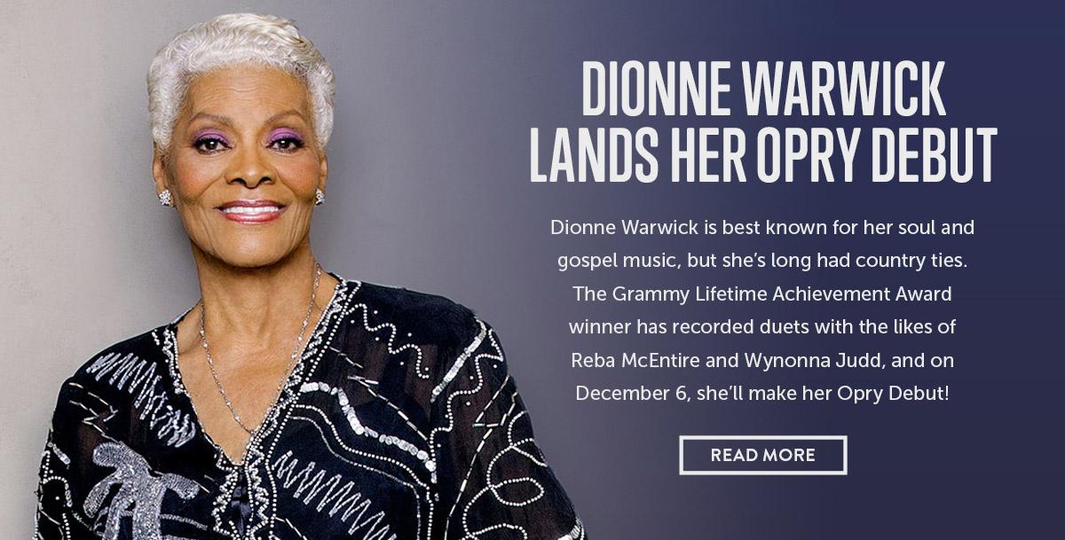 Dionne Warwick Opry Debut