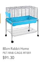 80cm Rabbit Home