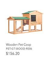 Wooden Pet Coop