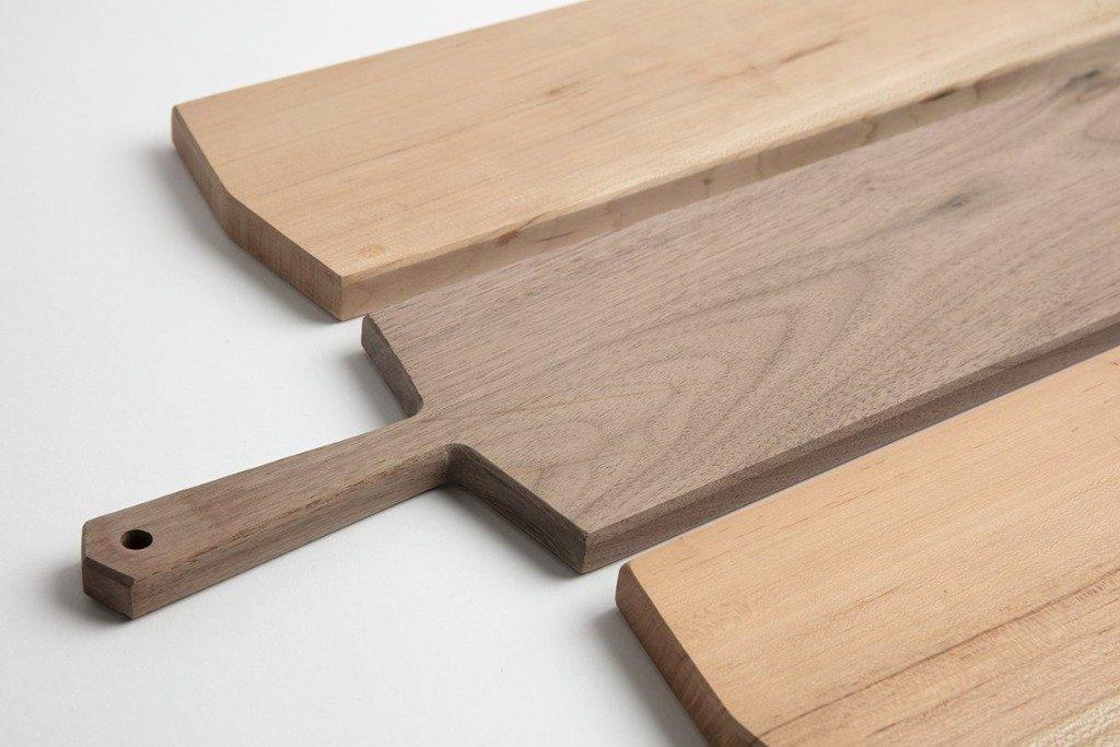Narrow Wood Cutting Boards