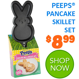 NEW for 2020 - PEEPS Pancake Skillet Set