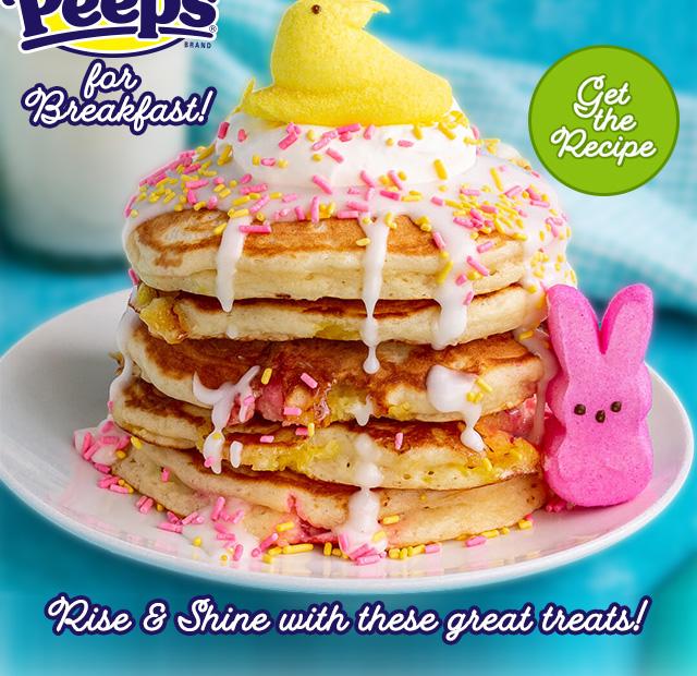 Peeps for Breakfast - Get the Recipe