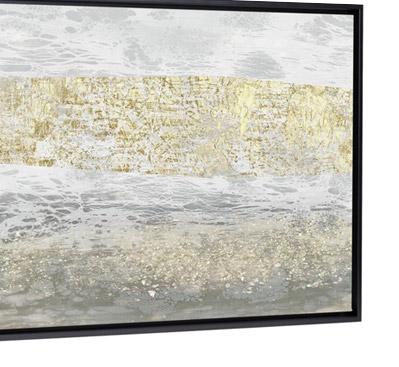 Gilded Textures I by Jennifer Goldberger