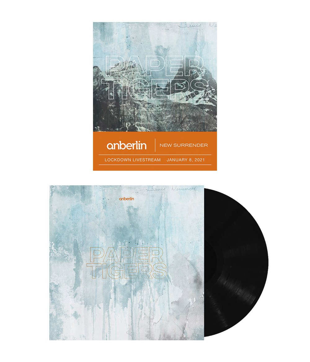 Anberlin We Are The Lost Ones Bundle #1 *PREORDER SHIPS 8/31