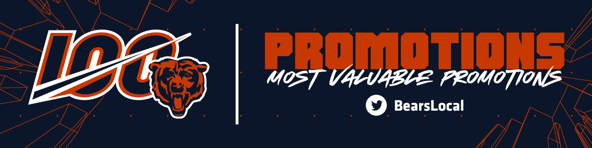 Chicago Bears: Most Valuable Promotions
