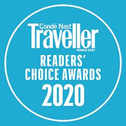 Votez pour nous aux Cond? Nast Traveller Readers'' Choice Awards 2020