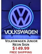 Volkswagen Junior Neon Sign