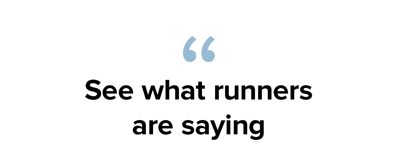 See what runners are saying