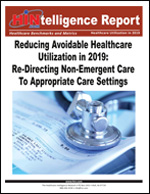 Reducing   Avoidable Healthcare Utilization in 2019: Re-Directing Non-Emergent Care To Appropriate Care Settings
