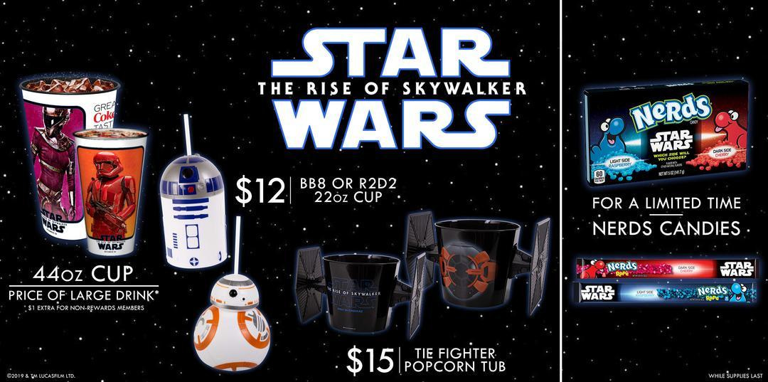 Star Wars Concession Items