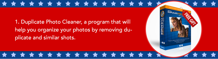 1. Duplicate Photo Cleaner, a program that will help you organize your photos by removing duplicate and similar shots.