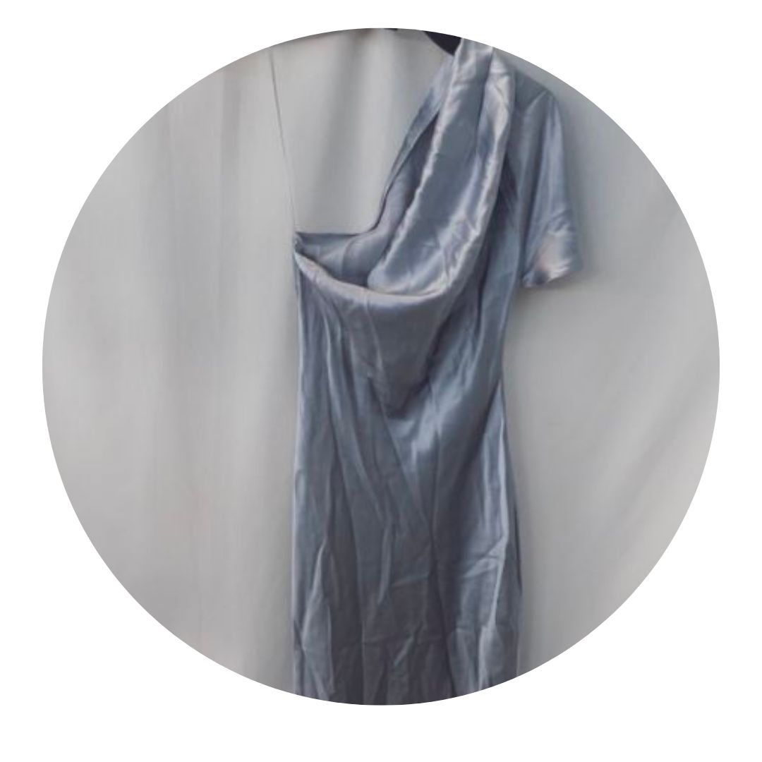 Fleur Du Mal Silver Dress
