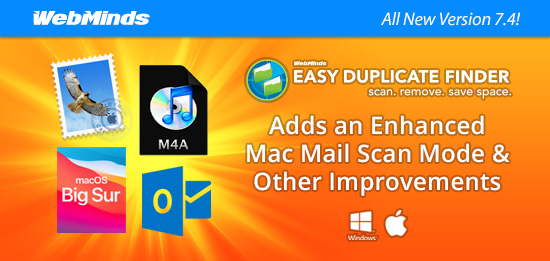 Easy Duplicate Finder 7.4 Adds an Enhanced Mac Mail Scan Mode & Other Improvements