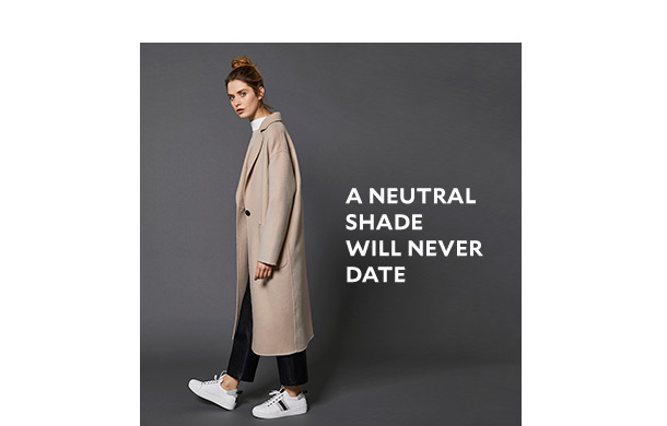 A neutral shade will never date