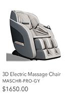 3D Electric Massage Chair