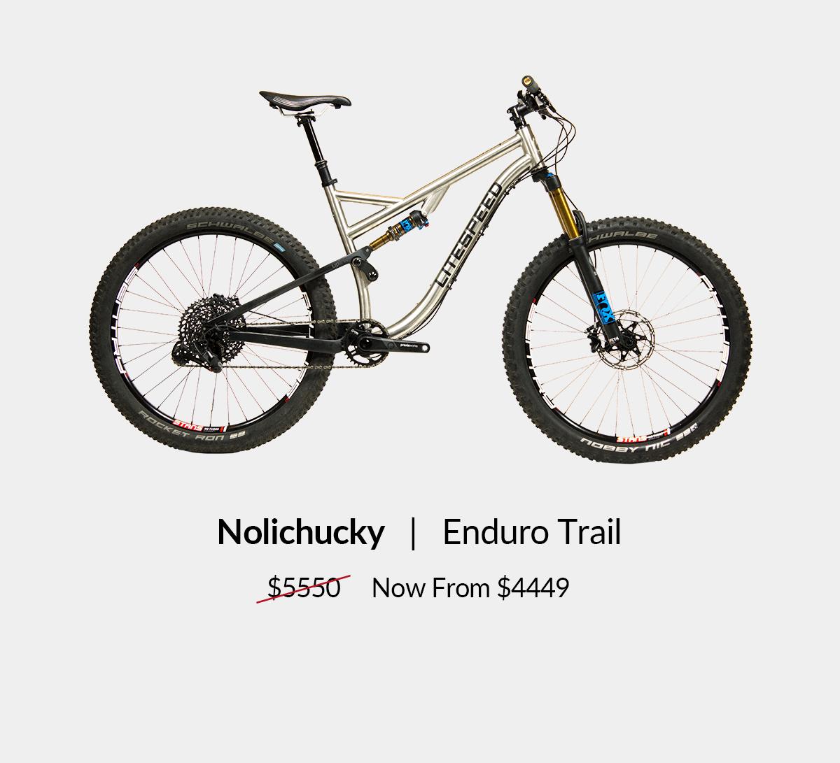 Nolichucky: Enduro trail bike from $4449. Shop now!