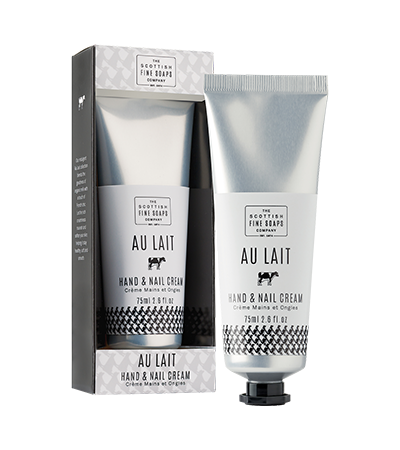 Au Lait Hand & Nail Cream | Scottish Fine Soaps