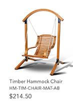 Timber Hammock Chair