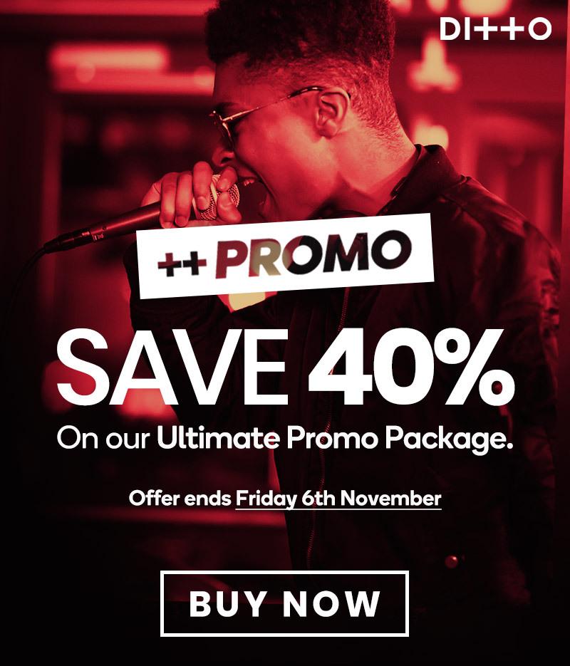 Ditto Promo Save 40%