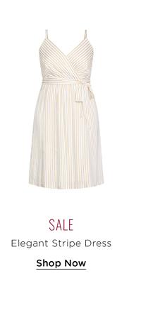 Elegant Stripe Dress
