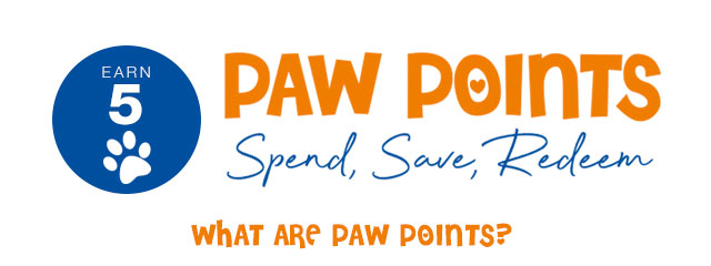 Paw Points with Every Order