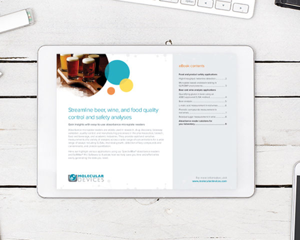 eBook: Streamline beer, wine, and food quality control and safety analyses