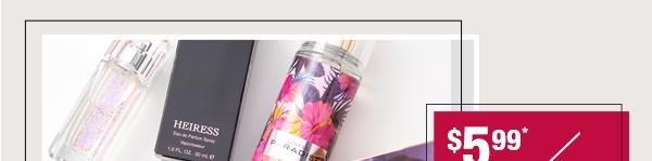 Shop Body sprays & celebrity fragrances