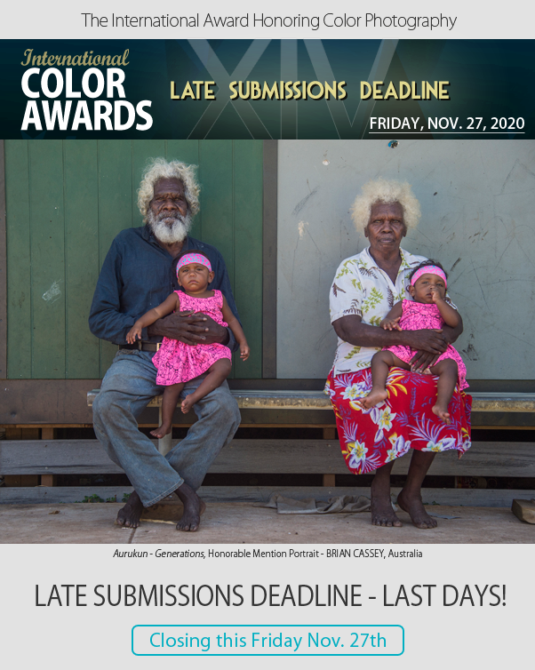 Late Submissions Deadline - CLOSING Friday, Nov. 27th