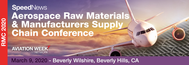 Aerospace Raw Materials & Manufacturers Supply Chain Conference