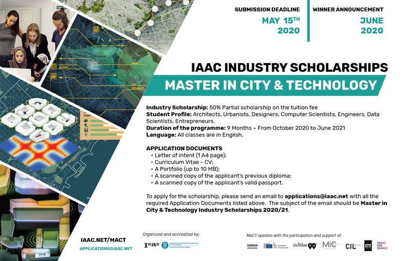 Iaac industry scholarship 2020 21 acadia banner